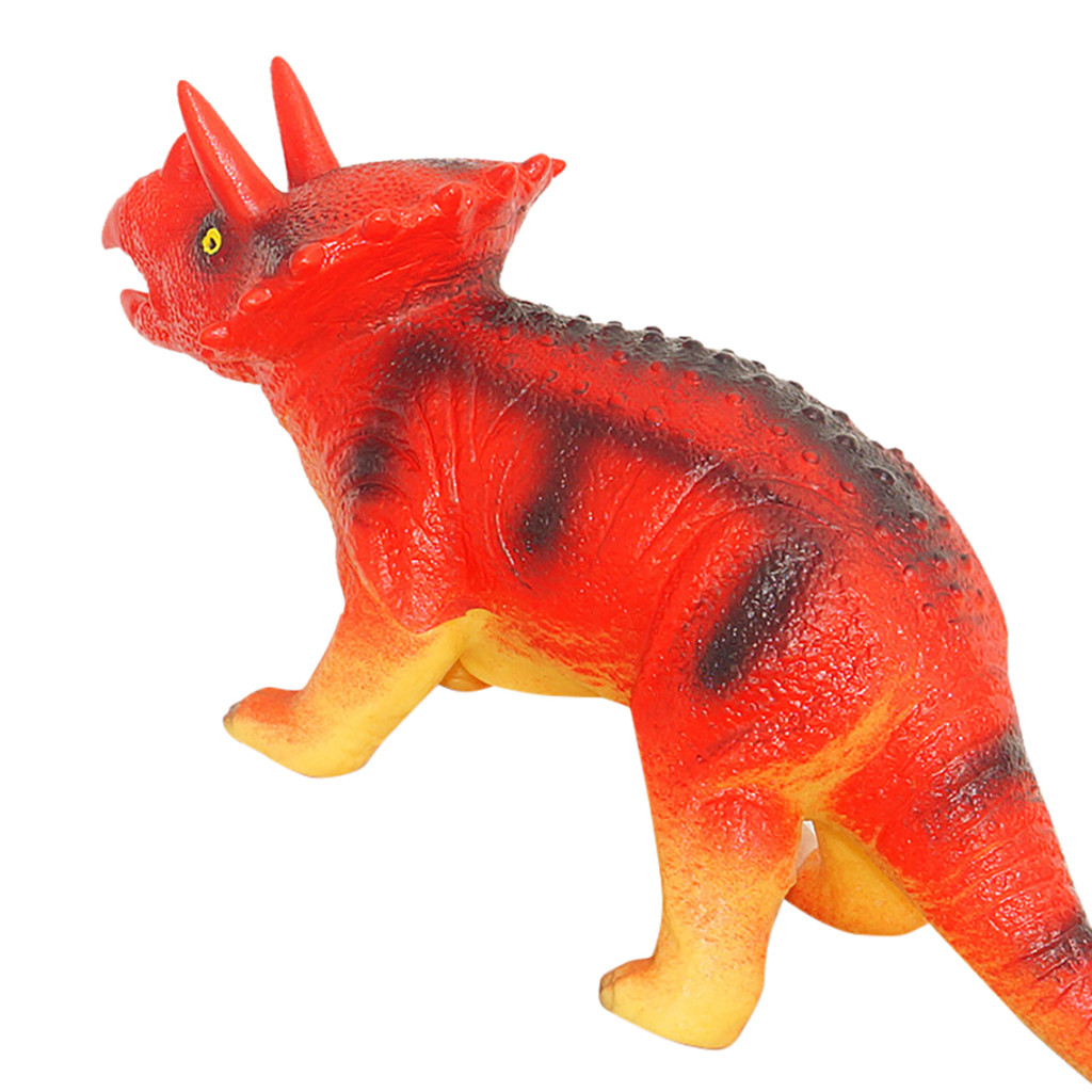 Simulation Squeeze Dinosaur Toy Educational Simulated Dinosaur Model With Sound Kids Children Toy Dinosaur Gift L102
