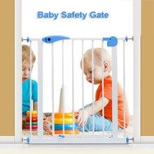 Детские ворота безопасности Защита детей забор столб барьер Лестницы ворота Pet изоляции фиксированная пластина защиты Детская безопасность