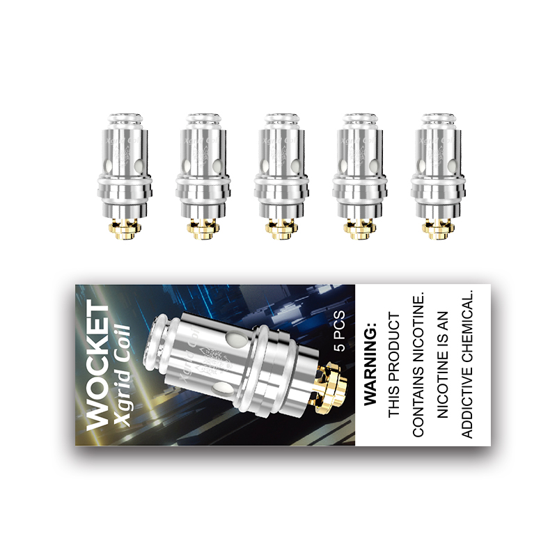 Newest Sigelei Snowwolf Afeng Replacement Wicked Coils 5pcs 0.6ohm Wicked Mesh Coil For Snowwolf Afeng Kit