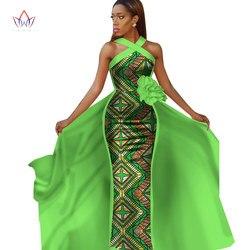 Afrikaanse jurken voor vrouwen plus size Dashiki afrikaanse sleeveles jurken voor vrouwen in afrikaanse kleding feestjurk 4xl andere WY2340
