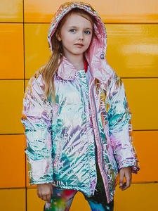 HH Winter Jacket Coats Double-Sided-Jackets Kids Parkas Girls Children 90%Duck-Down For Boys