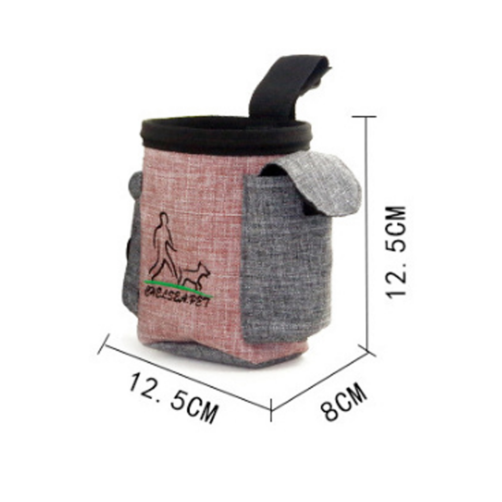 dog supplies Snack Bait Dog Outdoor Portable Training Snack Bag Pet Supplies Strong Wear Resistance  dog bell  dog collars-3