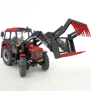 Zetor 7745 1:32 Tractor,4 Tools To Choose From,Folding Cutting 3D Paper Model Papercraft DIY Adult Handmade Craft Toys ZX-022 23 image