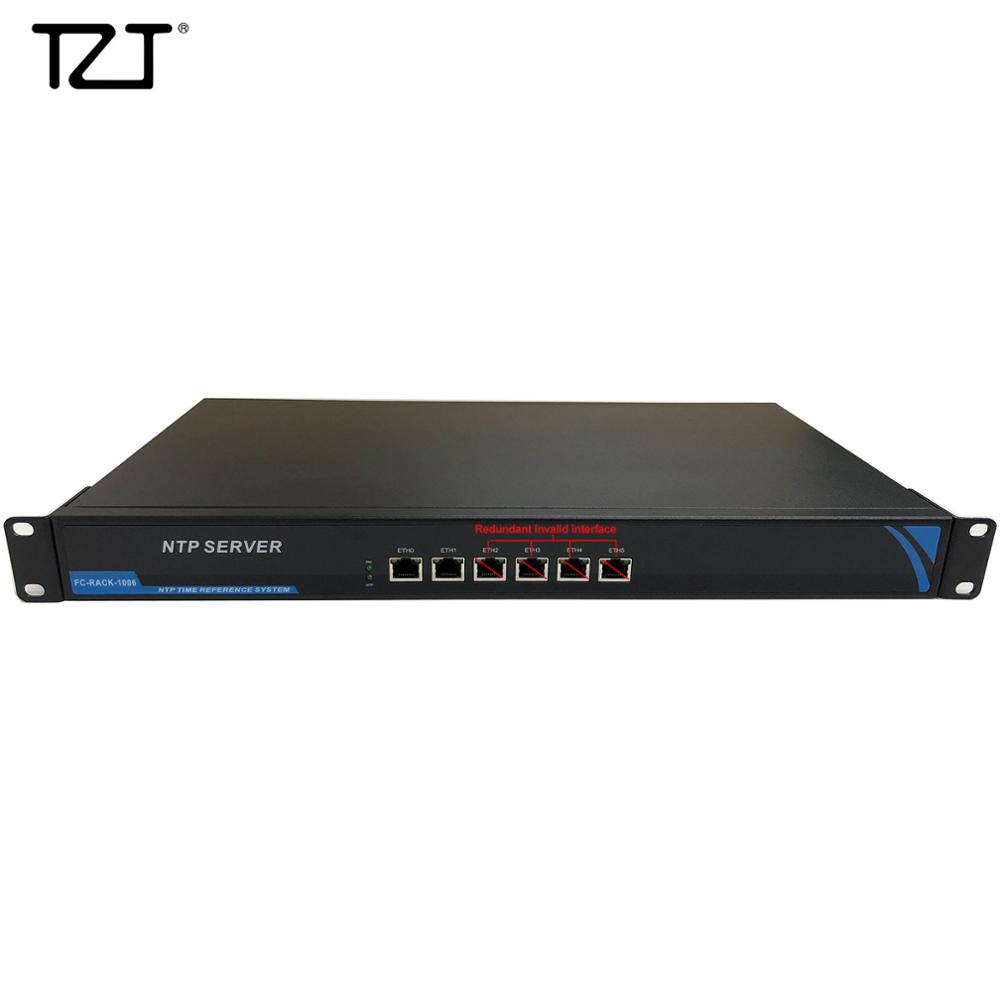 TZT Network Time Server NTP Time Server For GPS Beidou GLONASS Galileo QZSS Two-Port Accessible Version