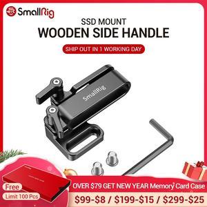 Image 1 - SmallRig מצלמה Rig הר עבור Samsung T5 SSD עבור Blackmagic עיצוב כיס קולנוע מצלמה 4K / 6K SmallRig כלוב 2245