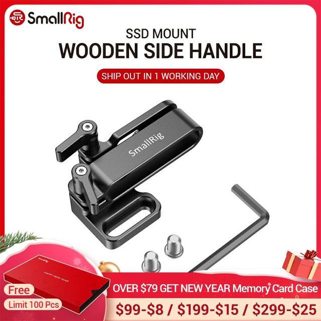 SmallRig מצלמה Rig הר עבור Samsung T5 SSD עבור Blackmagic עיצוב כיס קולנוע מצלמה 4K / 6K SmallRig כלוב 2245