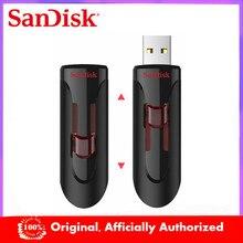 SanDisk – clé USB 128 CZ600, support à mémoire de 16GB 32GB 3.0 GB 256GB 3.0 GB, lecteur Flash ultra rapide, disque U