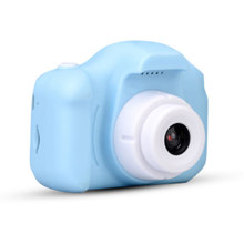 Rechargeable Kids Mini Digital Camera 2.0 Inch HD Screen 2mega pixels 1080P Projection Video Camera Gift For Children Kids Toy