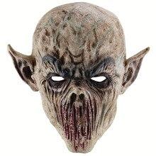 Mascarilla de zombi para Cosplay, accesorios de disfraces, Terror, demonio, Vampire