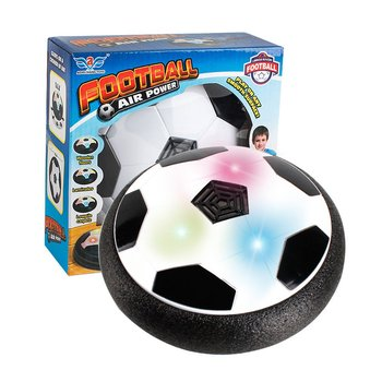 LED Light Flashing Music Ball Toy Electric Air Cushion Suspension Soccer Ball Disc Indoor Football Hovering Gliding Toy цена 2017