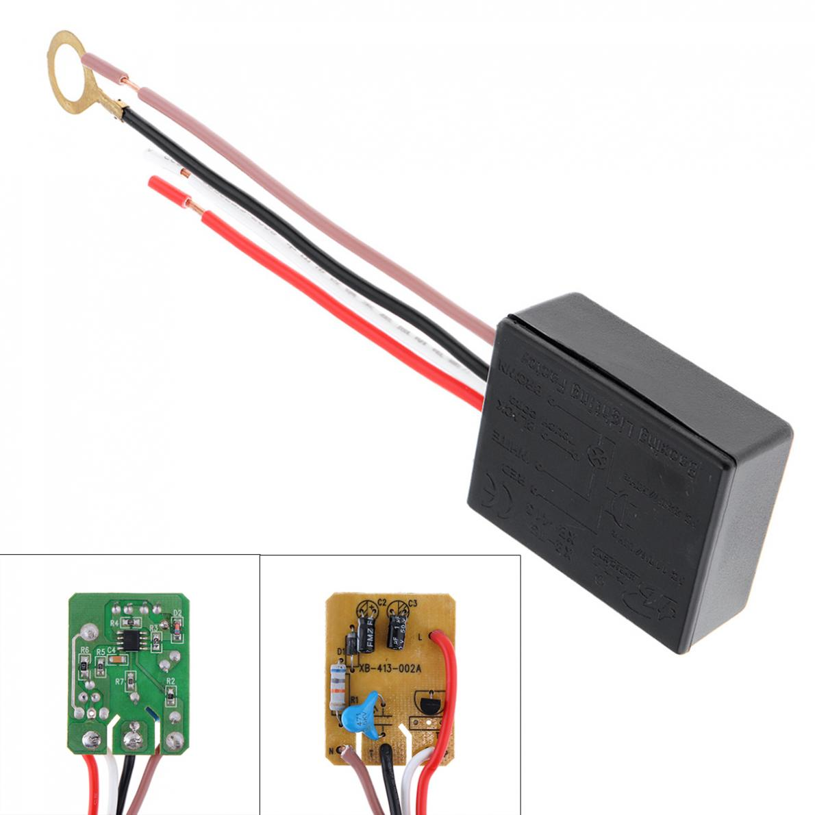 Four Stage Dimming Touch Switch Desk Light Touch Lamp 3 Way Control Sensor Switch Dimmer For Bulbs AC 220V 1A Light Accessories