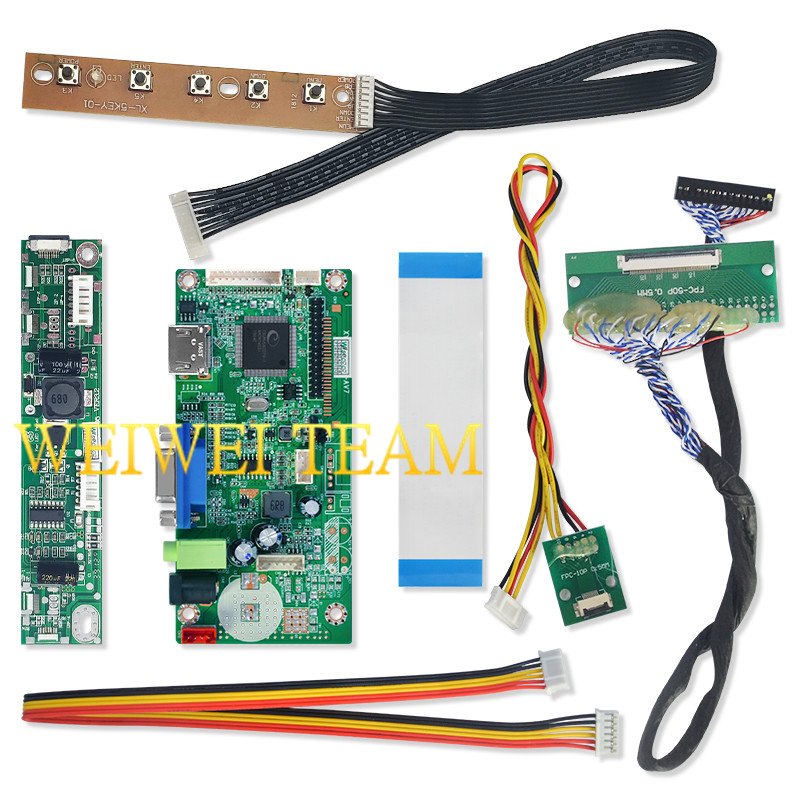 Image 5 - 10.3 inch IPS Pro LCD Display 1920x720 Stretched Bar LCD Ultra Wide Screen 50 Pins LVDS VGA HDMI Controller Board for Car-in Mobile Phone LCD Screens from Cellphones & Telecommunications
