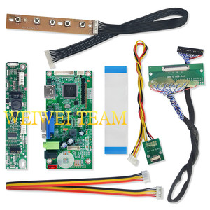 Image 5 - 10.3 inch IPS Pro LCD Display 1920x720 Stretched Bar LCD Ultra Wide Screen 50 Pins LVDS VGA HDMI Controller Board for Car