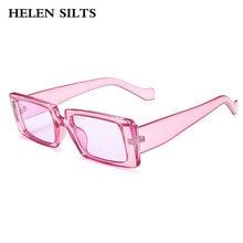 Новые модные маленькие квадратные солнцезащитные очки женские