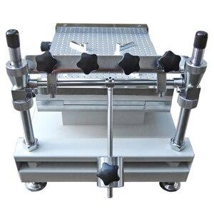 Image 5 - Producción SMT YX3040 PCB SMT plantilla impresora SMT serigrafía (300*400mm)