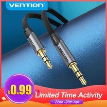 Vention – câble Audio mâle vers mâle, Jack 3.5mm, pour écouteurs de voiture Xiaomi Samsung MP3/4, câble de haut-parleur, 3.5