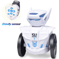 Intelligent LED Lights Kids Interactive Toy RC Remote Music Children Toy Singing Battery Operated Dancing Robot Smart