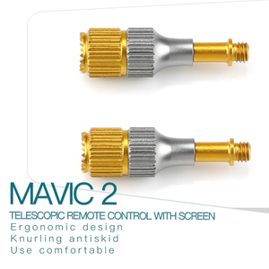 Image 2 - Inteligentny kontroler dżojstik na kciuk Mavic Air 2 nadajnik Joystick dla DJI Mavic Mini 2 pilot z uchwytem ekranu Rod Stick