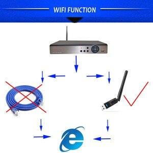 Image 2 - AHD 5MP CCTV Wifi DVR NVR H.265 4CH 8CH P2P Xmeye chmura wideorejestrator nadzór domowy bezpieczeństwo CCTV ONVIF dla kamery IP AHD