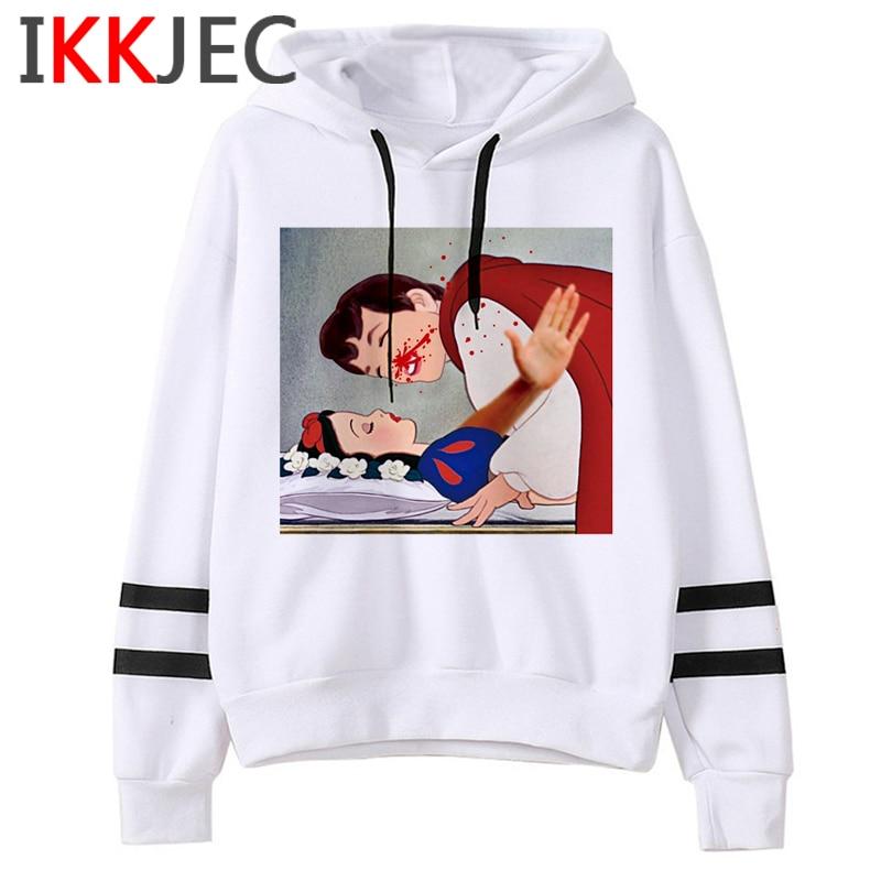 Aesthetic Harajuku Funny Cartoon Hoodies Women/men Grunge Princesses Vintage Sweatshirt 90s Graphic Fashion Hoody Female/male 31