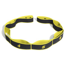 Win Stretching Band Loop Fitness Exercise Resistance Bands Belt Polyester Latex Elastic Latin Dance Yoga Pilates Yoga Pull Strap wholesale