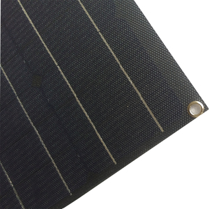 Image 5 - China ETFE flexible solar panel 40w semi flexible solar panel mono solarzelle 18V ETFE Beschichtung panel ladegerät 12V solar ladegerät