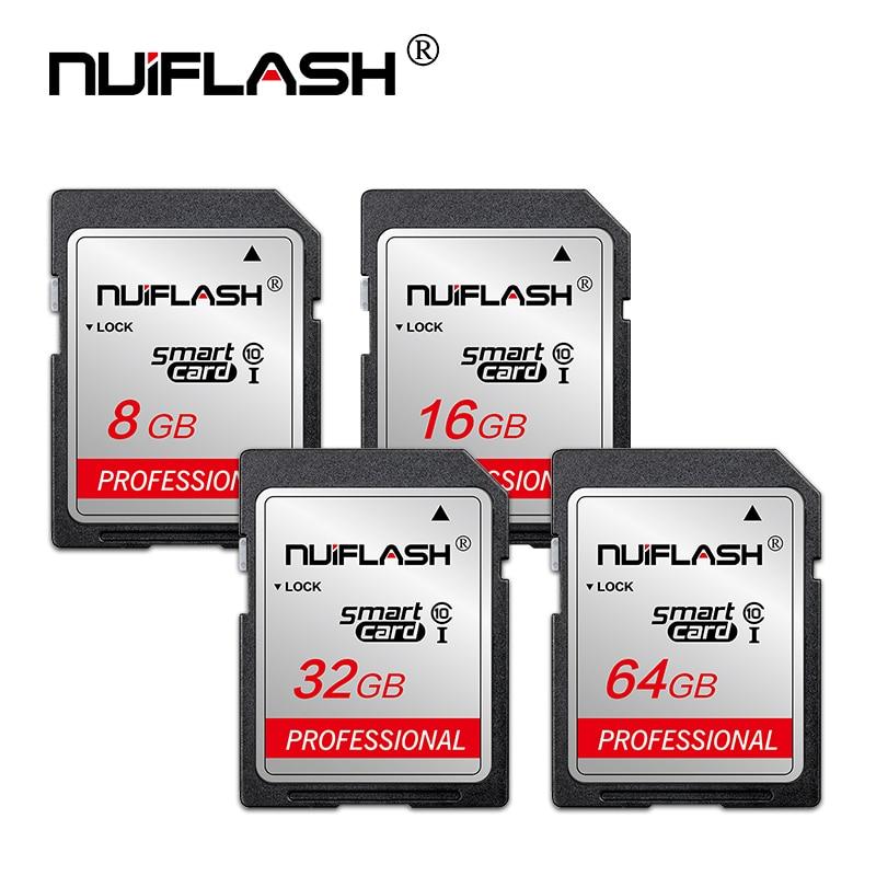 Ультра карты памяти Sd 16 Гб оперативной памяти, 32 Гб встроенной памяти, 64 ГБ SDHC Камера sd Card 64 Гб карты sd 128 ГБ 256 записки Class 10 UHS-1