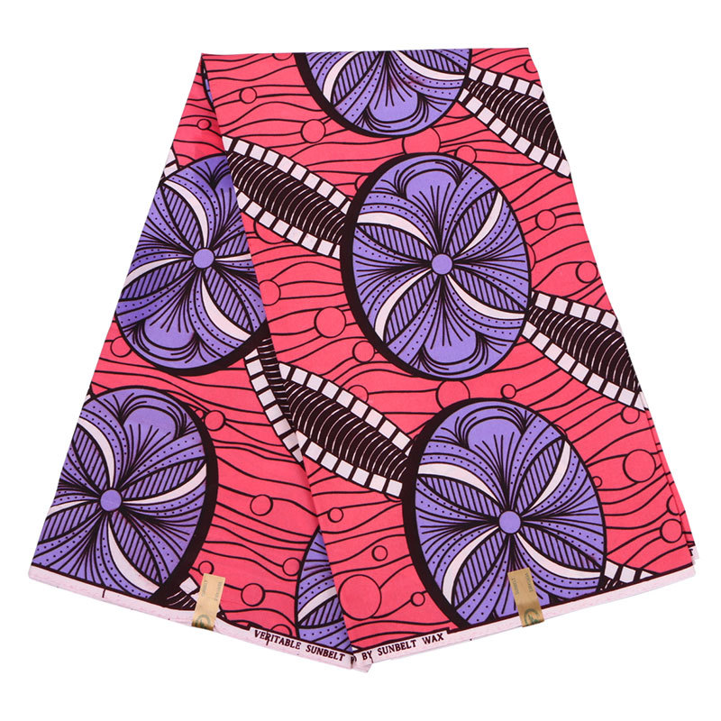 Ankara-Fabric Holland Real-Dutch-Wax African High-Quality 100%Polyester title=