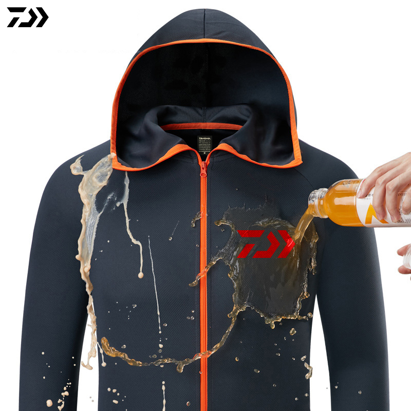 Shirt Breathable Fishing Clothing Men Waterproof Fishing Shirts Long Sleeve Fishing Jacket Quick Drying Fishing Clothes