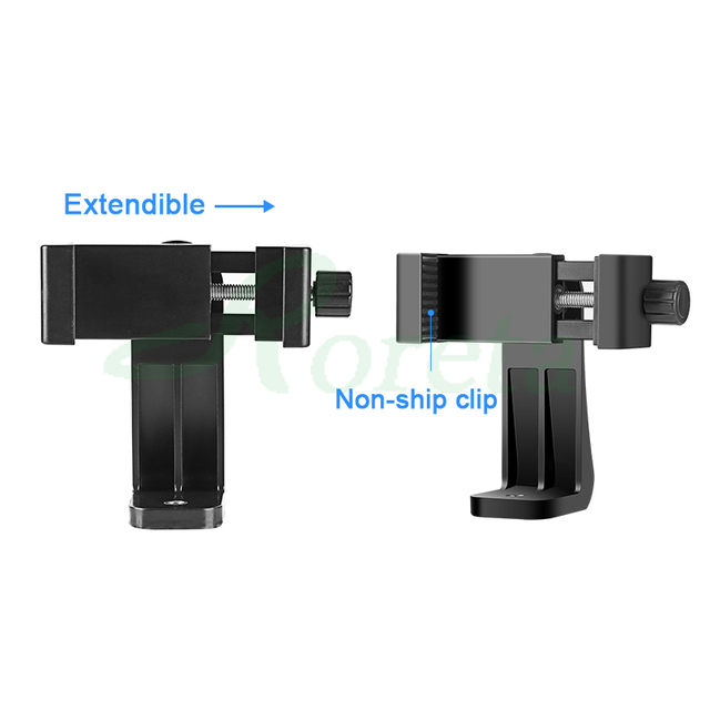 Roreta Tripod Mount Adapter Rotatable Stand Mount Adapter For iPhone xiaomi Samsung smart phone Tripod Stand 3