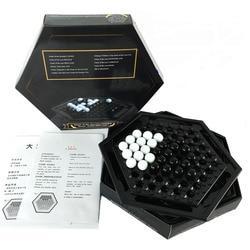 Jogo de tabuleiro abalone, jogo de xadrez para festas, jogos de caseiro e de criança presente das crianças