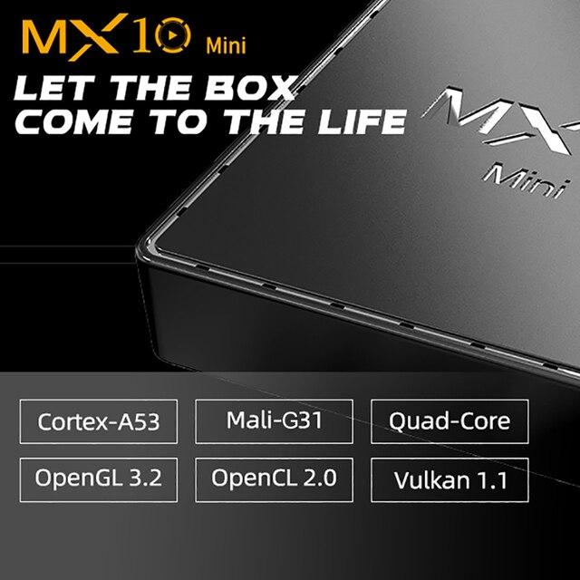 Смарт ТВ-приставка VONTAR MX10