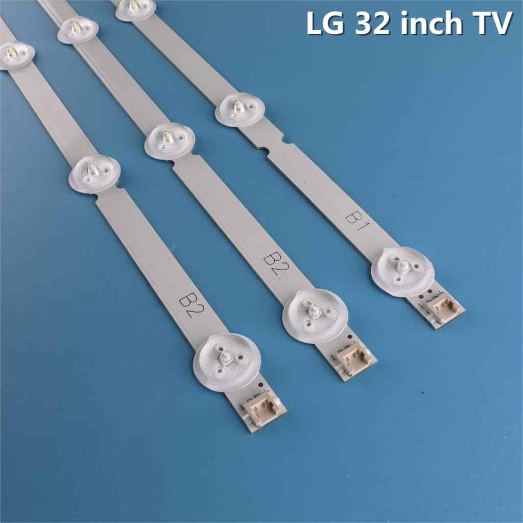 LED Bande de Rétro-Éclairage 7 lampe pour LG 32 ''ROW2.1 Rév TV 32ln541v 32LN540V 6916L-1437A 6916L-1438A 6916L-1204A 6916L-1426A