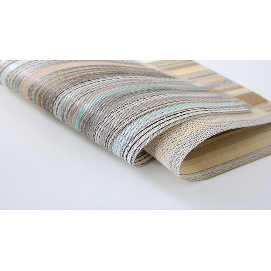 Термостойкие пластиковые салфетки ПВХ стойкие к пятнам декоративные