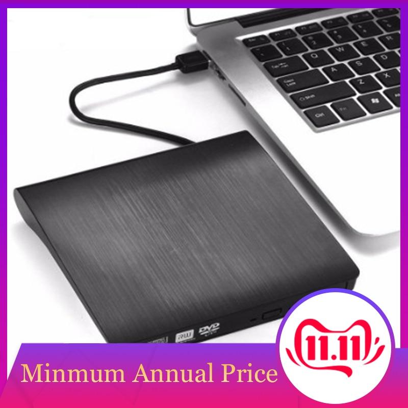 USB 3.0 DVD-ROM Optical Drive External Slim CD ROM Disk Reader Desktop PC Laptop Tablet Promotion DVD Player