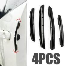 Autocollants de bord de porte de voiture, bande de Protection contre les rayures, barrière de Collision, Protection contre les collisions CSV, 4 pièces
