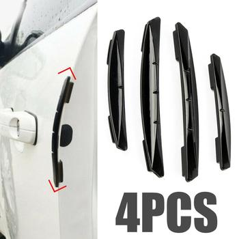 цена на 4pcs Car Sticker Door Edge Guards Trim Molding Protection Strip Scratch Protector Car Crash Barriers Door Guard Collision
