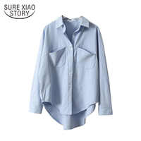 Vintage Frauen Shirts Blusas Roupa 2019 Frühling Frauen Sommer Bluse Koreanische Lange Hülse Frauen Tops und Blusen Weibliche Tops 6658 50