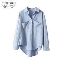 Vintage Women Shirts Blusas Roupa 2019 Spring Women Summer Blouse Korean Long Sleeve Womens Tops and Blouses Female Tops 6658 50
