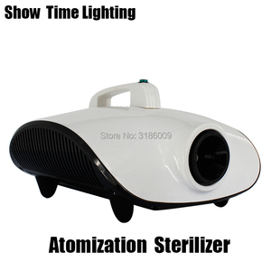 Hot Sale 220V Portable Atomization Sterilizer Kill Virus Remove Peculiar Smell 1500W Fog Machine Good Use For Car Room Office