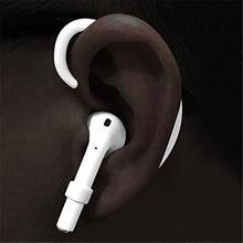 1 çift kayış kablosuz kulak asılı kanca aksesuarları tutucular Airpods 2019 H-en iyi