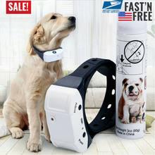 Cão trainings parar de ladrar recarregável citronela coleira do cão anti casca trem névoa spray suprimentos para cães