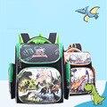 Ортопедические рюкзаки в виде ракушки  3D мультяшная детская школьная сумка для девочек  школьные рюкзаки для учеников начальной школы  От 6 ...