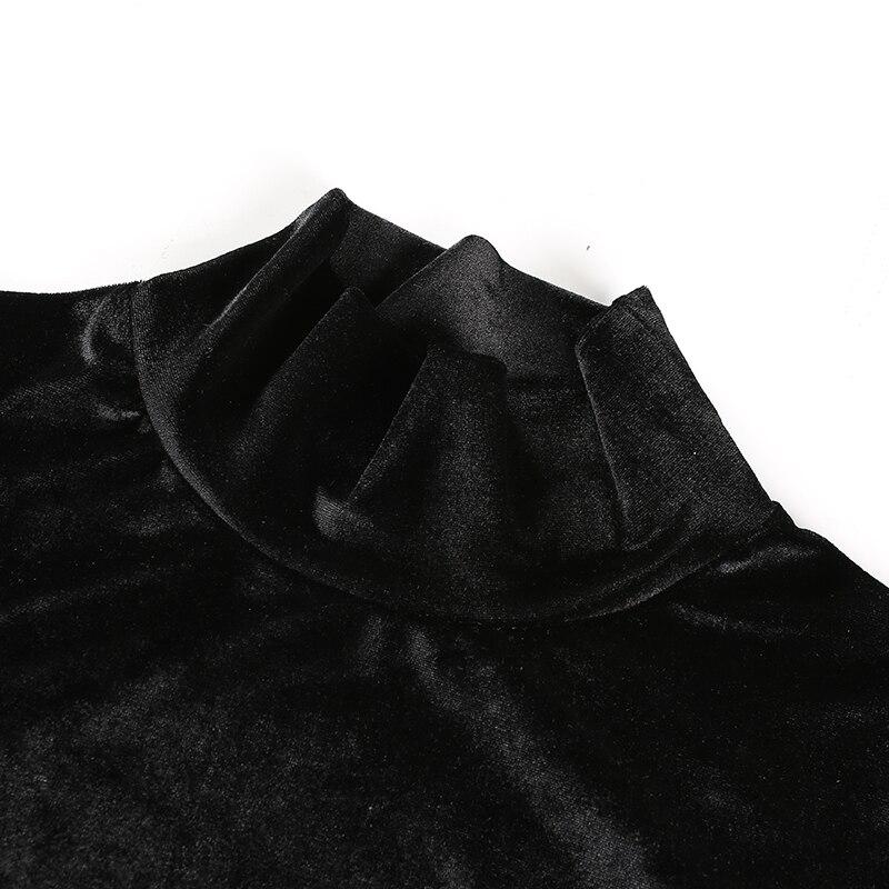 Black Velvet  Bodysuit (1)