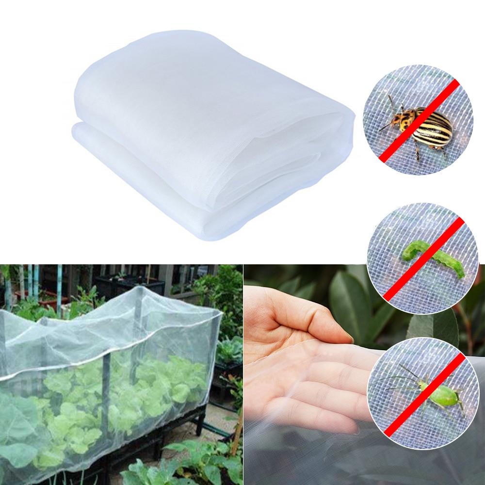 Filet de jardin insecte oiseau protéger filet légumes Fruits fleurs Protection des plantes serre jardin filet été