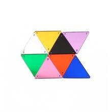 Ctpa3bi треугольник 30 шт акриловое зеркало шитье Стразы diy