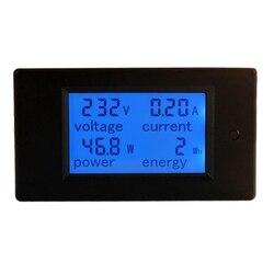 Ac 80 ~ 260V 100A miernik mocy dokładny woltomierz amperomierz Kwh Watt licznik energii napięcie prądu tester mocy|Mierniki mocy|Narzędzia -