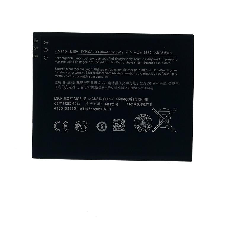 100% Original BV-T4D / BVT4D 3340mAh New produce Battery For Nokia Microsoft Lumia 950 XL CityMan 940 XL RM-1118 RM-1116 RM-1085(China)