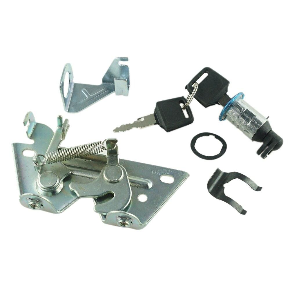 Набор ключей для блокировки сиденья с пластиной для мотоцикла квадроцикла картинга электрического велосипеда Замки и затворы    АлиЭкспресс