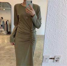 Новое поступление 2020 шикарное стильное платье в Корейском